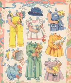 Badgett Quadruplets Paper Dolls