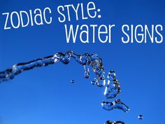 Zodiac Style: Water Signs ~ Cancer, Scorpio, Pisces scorpion19 -   more information ? click it!