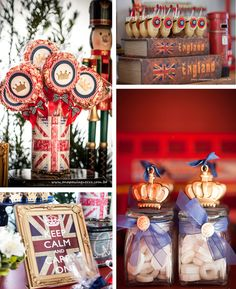 London British Birthday Party via Kara's Party Ideas