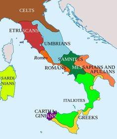 Italy in 400BC.