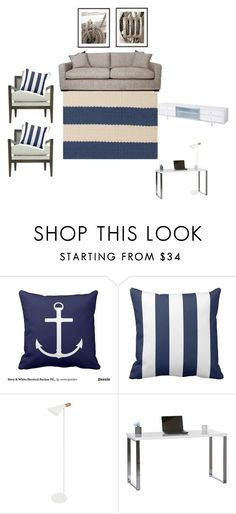 """""""Newport Inspired Living Room 2"""" by insideout1 on Polyvore featuring interior, interiors, interior design, home, home decor, interior decorating and living room"""