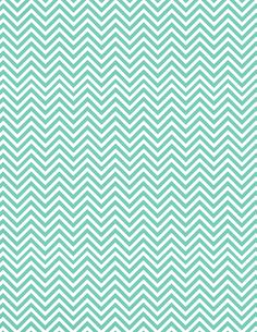 Aqua chevron printables! | http://loveablelockets.com