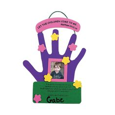 Mother's Day Hand Keepsake Picture Frame Craft Kit. Make a special gift for mom for Mother's Day! This foam craft kit is fun for schools, day . Mothers Day Crafts Preschool, Grandparents Day Crafts, Easy Mother's Day Crafts, Sunday School Crafts, Baby Crafts, Toddler Crafts, Crafts To Make, Easy Mothers Day Crafts For Toddlers, Mothers Day Pictures