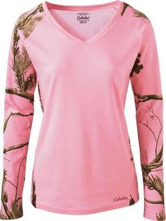 """""""Bought this for my wife for Christmas. She wears them every chance she gets."""" Review of the Cabela's Women's Long-Sleeve Camo Sleepshirt"""