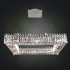 Arche 32 In. Round Pendant | Allegri Crystal Custom Lighting