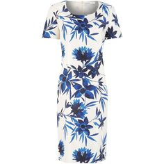 Jacques Vert Tropical print shift dress (£49) found on Polyvore
