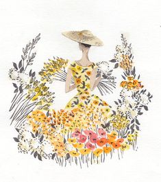 Wonderful illustrator and lovely person Emma Block recently reached out to me and suggested that we do collaborativeproject together. I h...