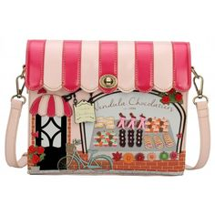 Vendula Chocolatiers Shop Front Box Bag