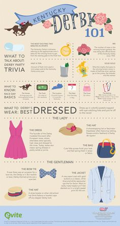 Hay you! Win any Derby party with our tips on what to know, talk about and wear. Before you trot off to a #KentuckyDerby party, check out our guide to all things Derby, brought to you by vineyard vines!