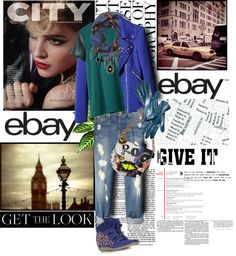 """""""Rock Menswear Like a Lady with eBay"""" by spenderellastyle ❤ liked on Polyvore"""