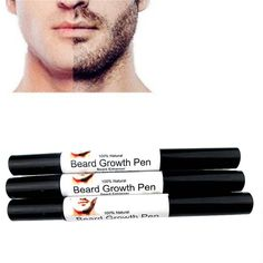 Quick And Effective Facial Beard To Grow Lliquid Pen Growth Shaping Styling Spray New
