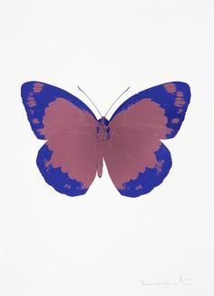 Entdecken und kaufen Sie The Souls II - Loganberry Pink/Westminster Blue/Blind Impression von Damien Hirst bei fineartmultiple, dem führenden Online-Shop für moderne und zeitgenössische Kunst.