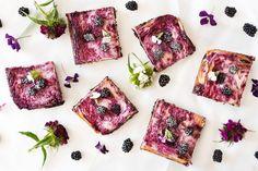 Food: Blackberry Cheesecake Brownies