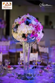 When the centre piece out shines the rest of the table Event Planning Template, Event Planning Checklist, Event Planning Business, Event Planning Design, Party Planning, Event Decor, Decoration, Events, Purple Roses