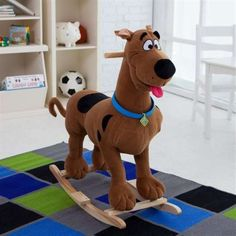 557dd4844 Scooby-Doo rocking horse :) Scooby Doo Kids, Scooby Doo 1969, Scooby