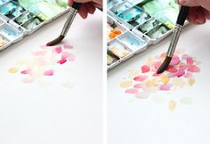 Watercolor Tutorial Part 4 - Layering - The Alison Show