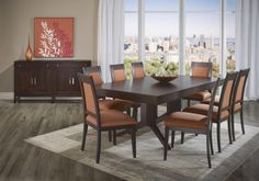High Style - Custom Dining Casual Dining Room Group by Canadel