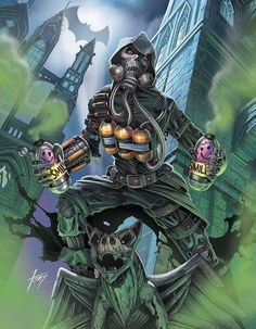Batman & The Dark Knights of Gotham Gotham Villains, Comic Villains, Bob Kane, Arte Dc Comics, Marvel Comics, Marvel Heroes, Comic Books Art, Comic Art, Scarecrow Batman