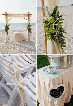 Wedding by the seaside