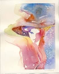 Image result for watercolors of holy spirit