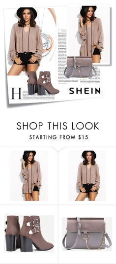 """SheIn 9/VII"" by amina-haskic ❤ liked on Polyvore featuring Post-It, Tiffany & Co. and shein"
