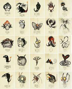 (Tim Burton Inspired Pokémon Re-design)