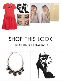 """""""Untitled #50"""" by gracesmedley87 ❤ liked on Polyvore featuring Valentino and Giuseppe Zanotti"""