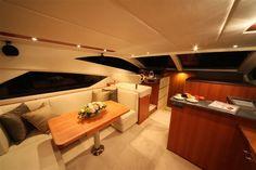 The New Mares 45 Power catamaran interior