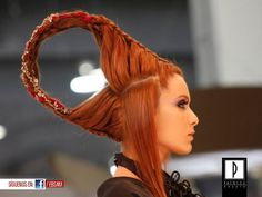 At Expo Beauty Show 2012. Patrice Coiffure.