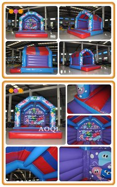 If you want to place lovely bouncer in your shop or house,welcome to consult us. Inflatable Bouncers, Special Events, Balloons, Shop, Fun, Kids, House, Design, Young Children