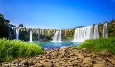 日本のナイアガラ 大分 原尻の滝