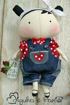 Doll Clothes Patterns, Doll Patterns, Felt Dolls, Doll Toys, Tilda Toy, Homemade Dolls, Monster Dolls, Sewing Dolls, Doll Maker