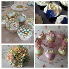 Don't you just love these cupcakes from Carina's cupcakes?  They are too nice to eat!