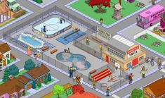 Simpsons Springfield, Springfield Tapped Out, The Simpsons Game, Cartoon Network Adventure Time, Adventure Time Anime, Far Side Comics, Isometric Design, What Have You Done, Games