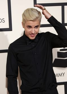 So in love with Justin Bieber's Grammy's date