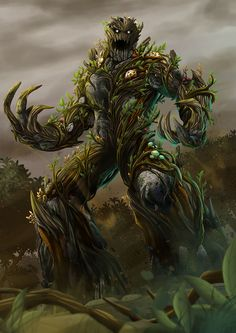 ArtStation - Earth Spirit, Angga Prasetyawan