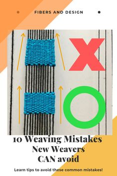 Hottest Free of Charge types of weaving techniques Popular Solve common weaving problems with these techniques. Weaving Loom Diy, Straw Weaving, Paper Weaving, Weaving Art, Weaving Patterns, Tapestry Weaving, Hand Weaving, Stitch Patterns, Knitting Patterns