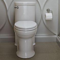 Elongated toilet des