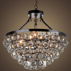 Factory Outlet Modern Crystal Chandelier Lighting Tear Drops Chandeliers Matte Black Pendant Hanging Light for Home Decoration room makeover ** AliExpress Affiliate's Pin.  Click the image to visit the AliExpress website