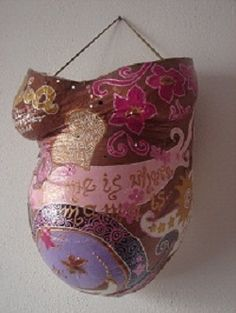 belly cast and more homemade baby shower gift ideas