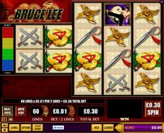 Bruce Lee himself is the wild symbol in this ultra high variance slots game from WMS. The game plays a little differently to traditional slots but a couple of spins and you will be on a roll with it. Look for dragons, gold, pottery and treasure chests on the reels.