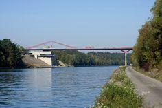 Vroenhoven Bridge. Location: Riemst, Belgium; firm: Ney Partners; year: 2011