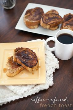 This Coffee-infused French Toast combines two of the greatest breakfast flavors into one delicious dish!