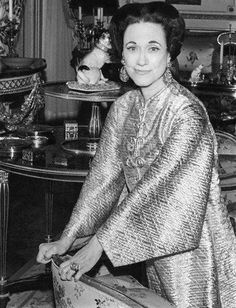 The Duchess of Windsor [Wallis Simpson] Wallis Simpson, Eduardo Viii, King George, Queen Elizabeth Ii, Duke And Duchess, King Queen, British Royals, Style Icons, Cool Style