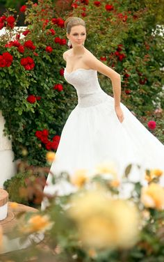Princess ball gown wedding dress by Essense of Australia. (Style D1042)