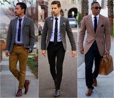 mens brogues - Google Search Workwear Fashion, Mens Fashion, Smart Casual Men, Brogues, Work Wear, Suit Jacket, Jackets, Google Search, Image