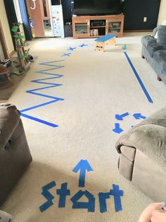 18 Ideas for Floor Games Ideas for Floor Games. 18 Ideas for Floor Games. Indoor Painters Tape Obstacle Course the Little Kids Love Toddler Obstacle Course, Obstacle Course Party, Obstacle Course Training, Backyard Obstacle Course, Backyard Games, Outdoor Games, Rainy Day Activities, Indoor Activities, Learning Activities