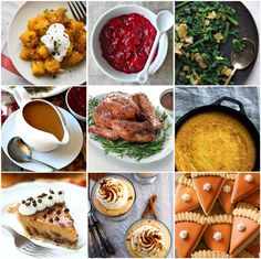 30 + Recipes for a Fabulous Thanksgiving Feast by Bird's Party