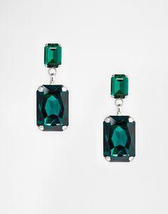 Image 1 ofKrystal Swarovski Door Knocker Earrings