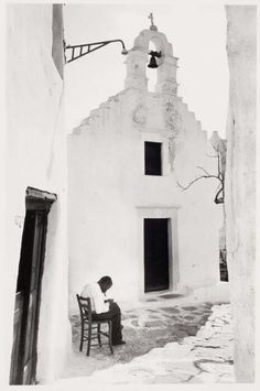 Myconos 1948, photo David Seymour Greece Photography, Bw Photography, Mykonos Island, Mykonos Greece, Great Pictures, Old Pictures, Greece History, Myconos, Old Time Photos